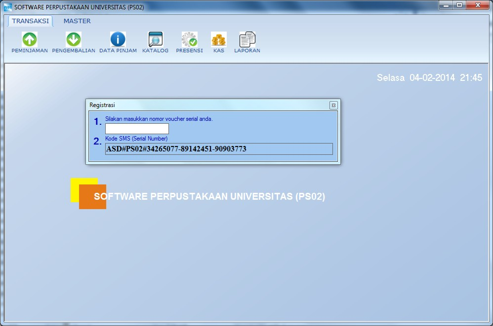 , APLIKASI PERPUSTAKAAN UNIVERSITAS ++ FREE DOWNLOAD, GRATIS DOWNLOAD