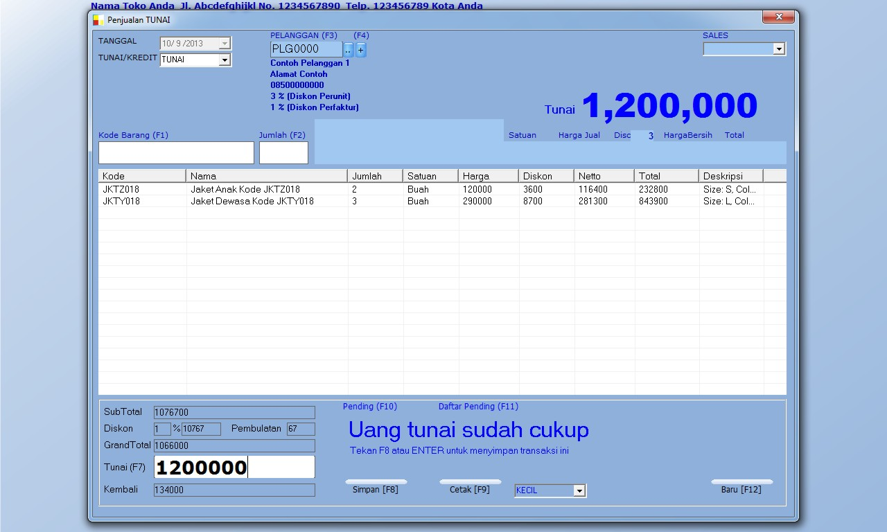 software toko busana, aplikasi toko busana, program toko busana, download gratis registrasi full version bayar, bukan bajakan ctack keygen