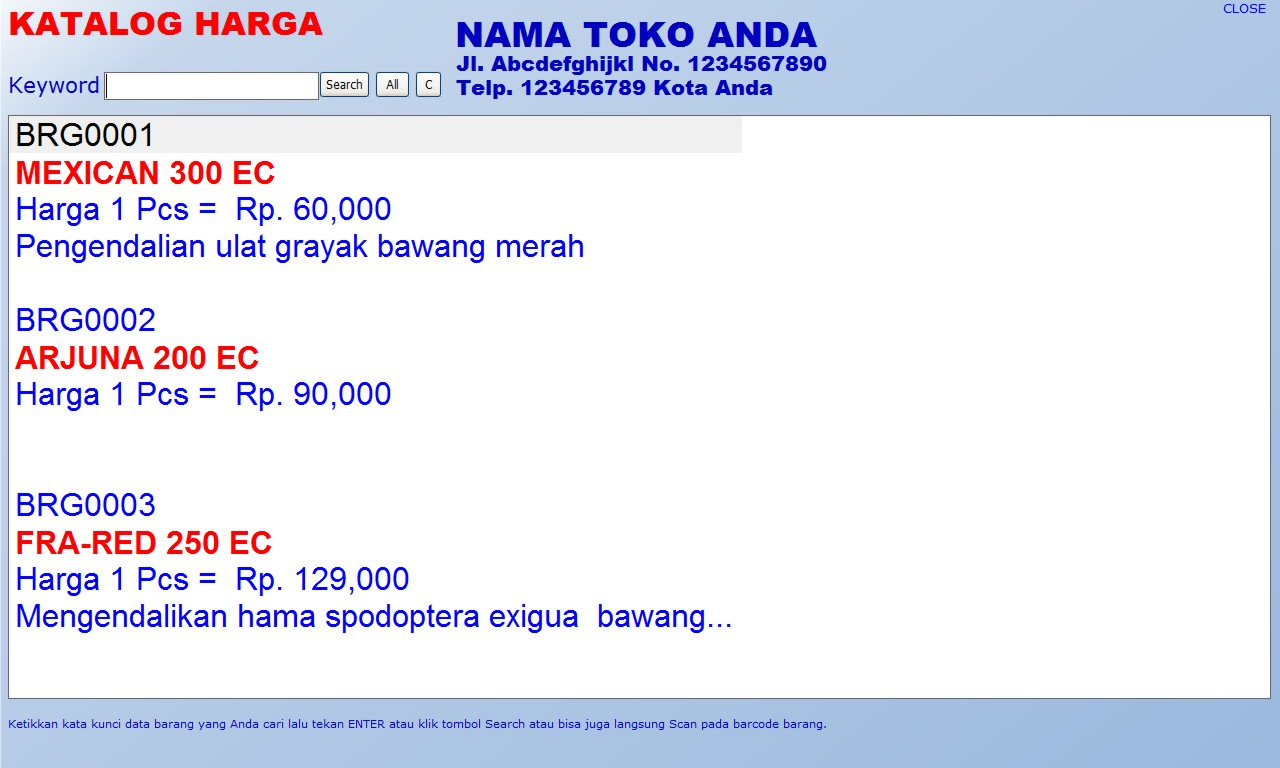 software toko pertanian, aplikasi toko pertanian, program toko pertanian, download gratis registrasi full version bayar, bukan bajakan ctack keygen