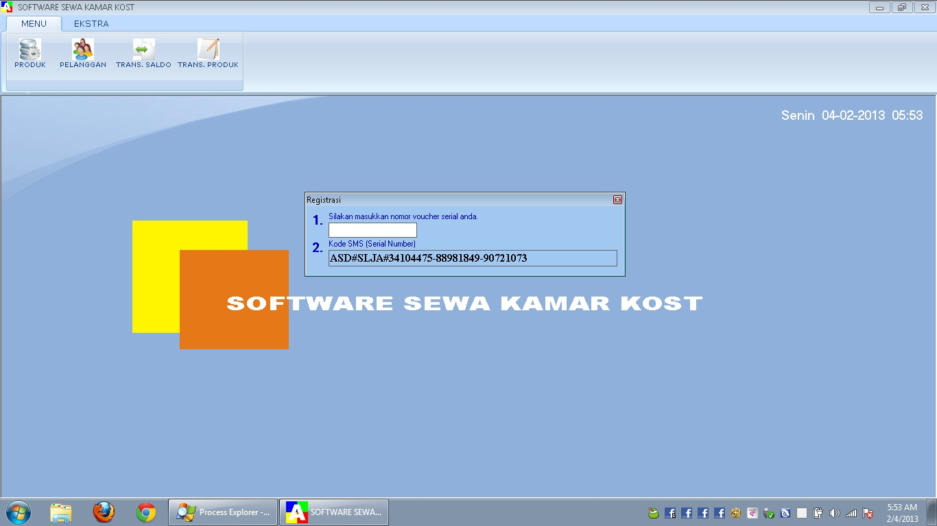 software sewa kamar kost